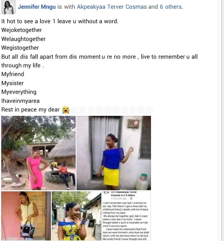 gistreel. - Nigerian bride to-be, goes to sleep and never wakes up, just a week to her wedding