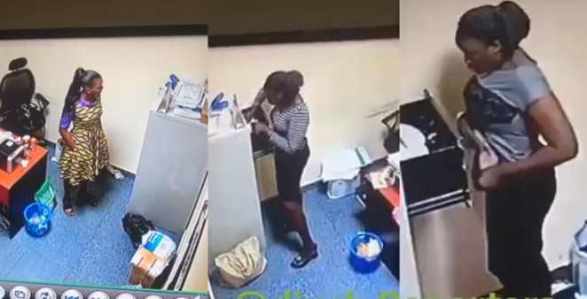 Yabatech student nabbed after stealing over ₦500,000 during her SIWES (Video)