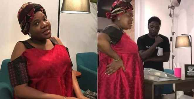 Please stop - Frustrated Toyin Abraham says to fans who insist she is pregnant