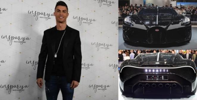 Cristiano Ronaldo 'buys world's most expensive car worth £9.5m (Photos)