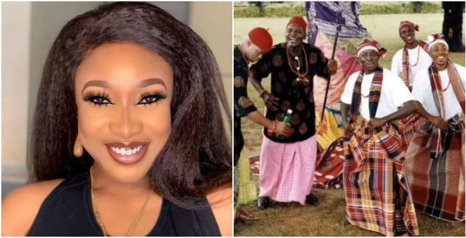 Tonto Dike reacts to reports of her vowing not to marry Igbo