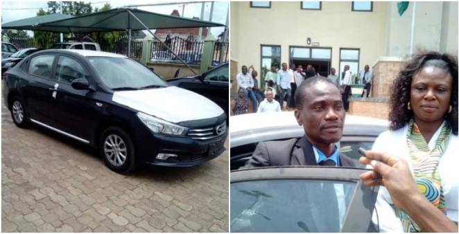 Civil Servant Rewarded With Car After He Returned N53m Mistakenly Paid To Him