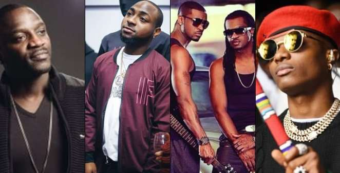 Psquare, Wizkid and Davido are richer than most America hip-hop artistes – Akon