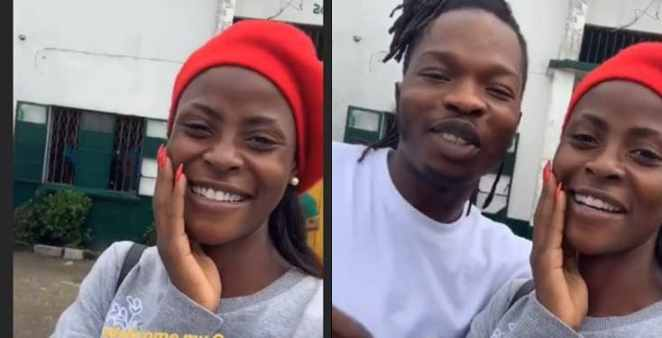 BBNaija's Khloe spotted with Naira Marley shortly after his release from prison
