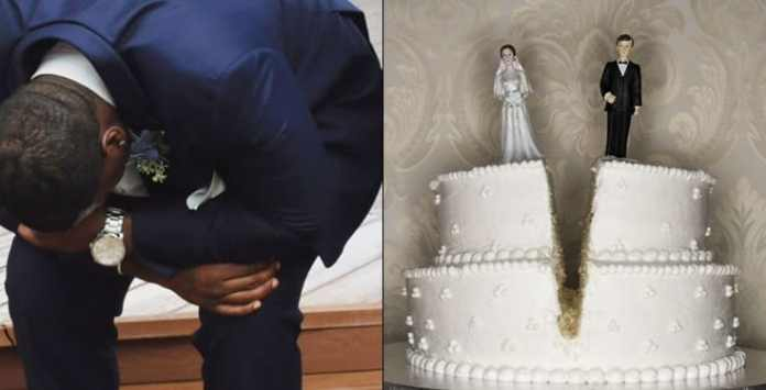 Groom cancels wedding on wedding day