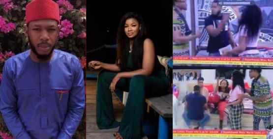 BBNaija: 'Let me talk to smart people, not you' – Frodd tells Tacha (video)