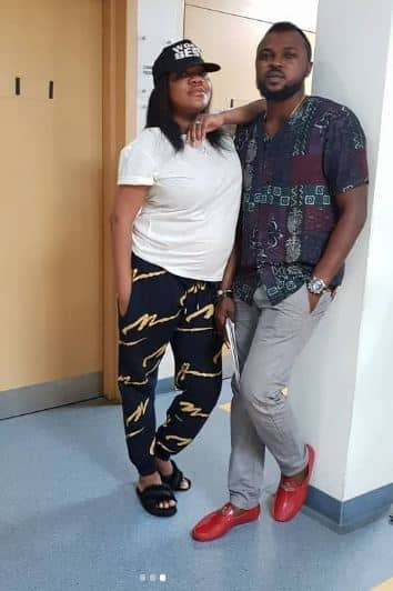 Toyin Abraham speaks about motherhood, and worry over her big tummy