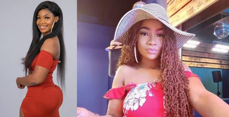 BBNaija 2019: Tacha's billboard gets destroyed in Imo State (video)