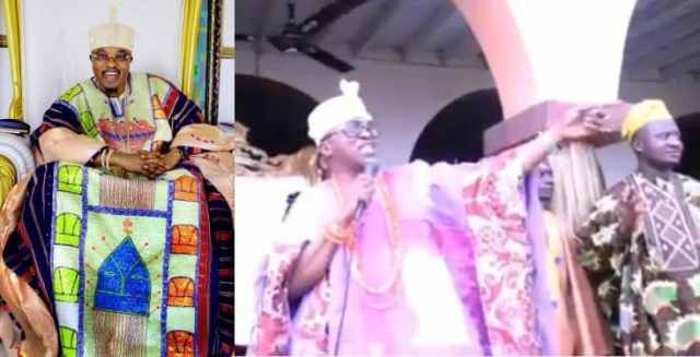 Moment Oluwo of Iwoland stopped rain from falling (video)