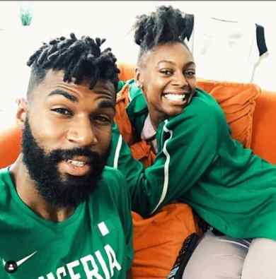 BBNaija 2019: Mike's wife arrives Nigeria, see what she did (video)