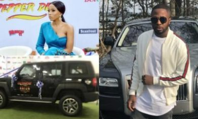 Tunde Ednut mocks BBNaija's car prize to Mercy