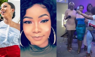 BBNaija: Tacha reunites with Mercy and other housemates  during DSTV media tour