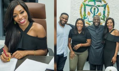 BBNaija: Khafi bags endorsement deal with 'The Temple company'