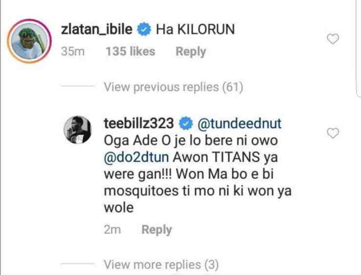 Teebillz slams Zlatan for mocking reality star, Tacha