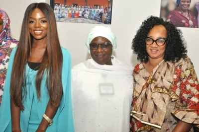 BBNaija: Diane Received By Hadiza Balarabe, Acting Governor Of Kaduna