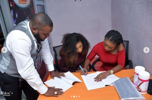 BBNaija winner Mercy bags another endorsement deal with Mapia Tea 2 - Video: Mercy bags another endorsement deal with Mapia Tea