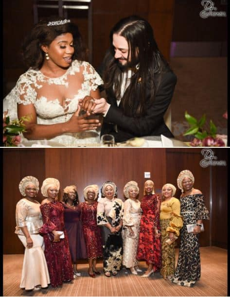 Lovely wedding photos of Oyinbo man and his pretty Nigerian bride 4