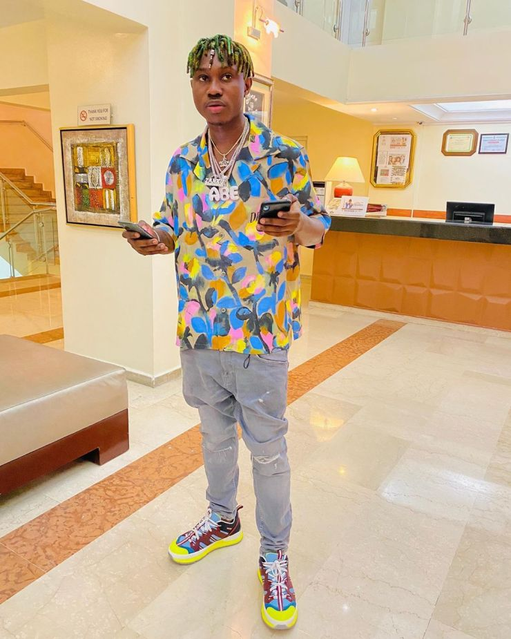 Zlatan Ibile buys himself a Range Rover for his 25th birthday 1