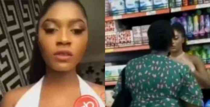 Lady harassed by woman for allegedly sleeping with her husband finally speaks (Video)