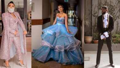 Toyin Lawani mocks Mercy as she emerge Best Dressed Female at the AMVCA 2020