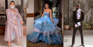 Toyin Lawani mocks Mercy as she emerge Best Dressed Female at the AMVCA 2020