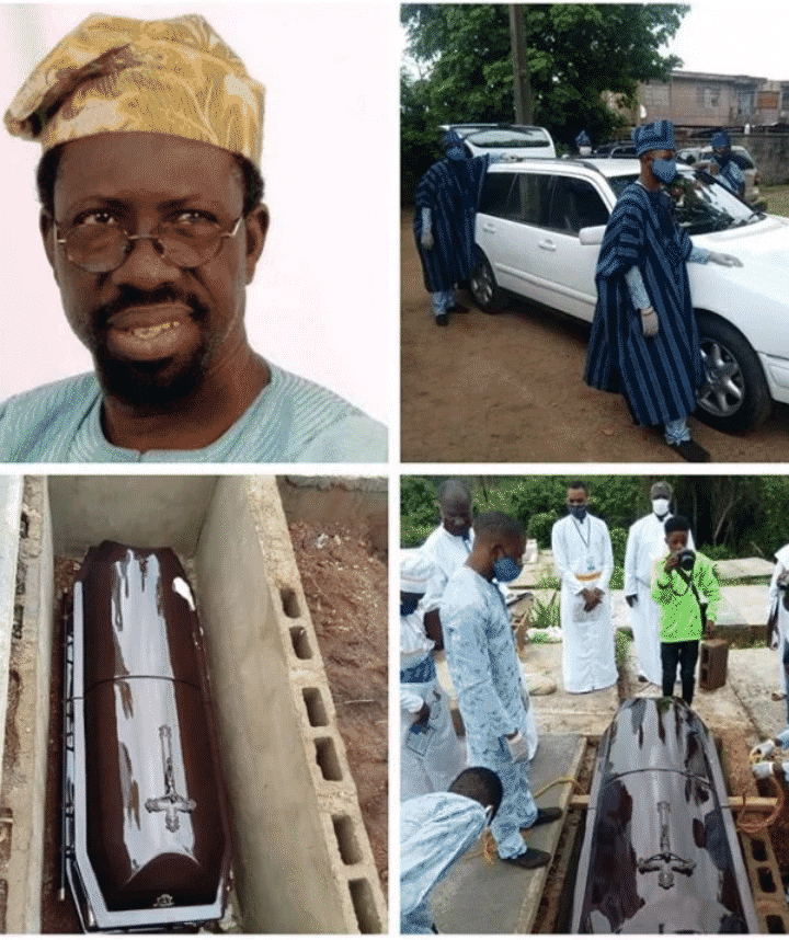 Actor, Pa Kasumu laid to rest