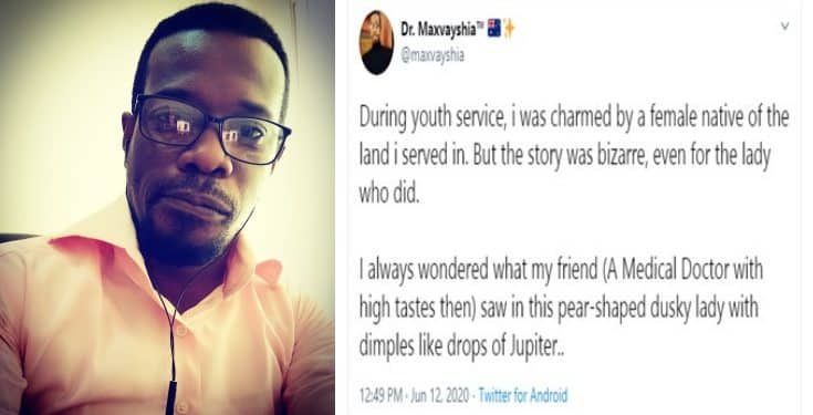 "Nigerian doctor narrates how he and his friend were ""charmed"" by two girls during NYSC"