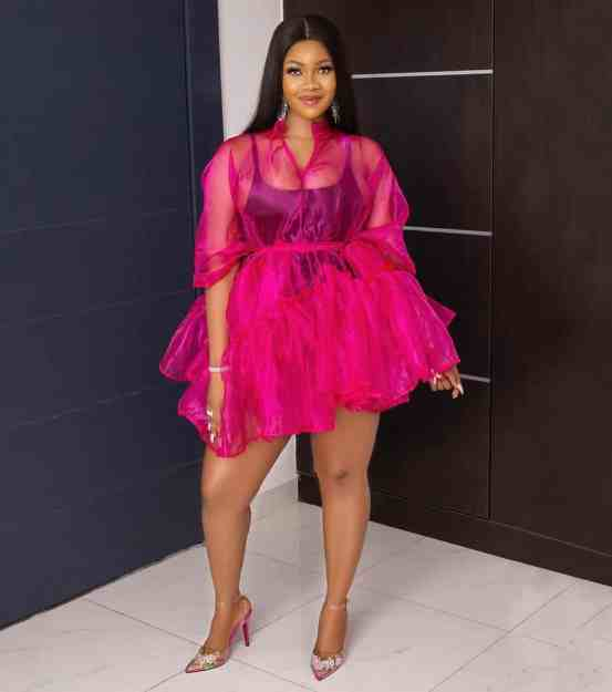 Tacha reacts after lady begs BBNaija organizers not to select anyone whose mother is dead