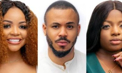 BBNaija: Ozo curves Nengi as Dorathy insists on removing herself from their love triangle (Video)