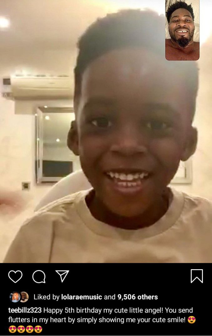 Teebillz celebrate son's birthday