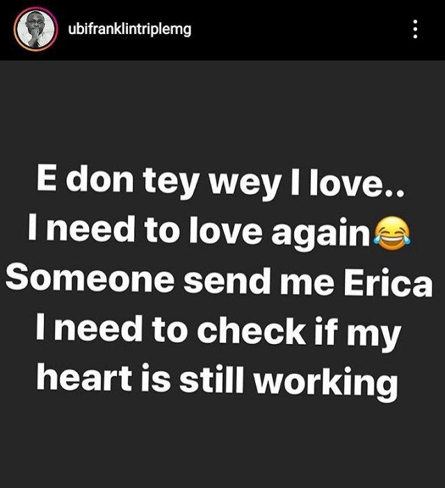 Ubi Franklin Nengi and Erica