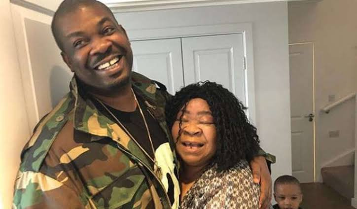 Don Jazzy celebrates his mother