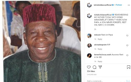 Tchidi Chikere remembers his father