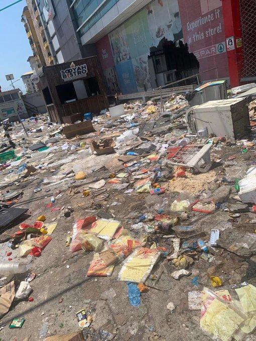 """""""Rebuilding a supermarket is hard"""" – Spar Nigeria's heart melting message after their shop was vandalized"""