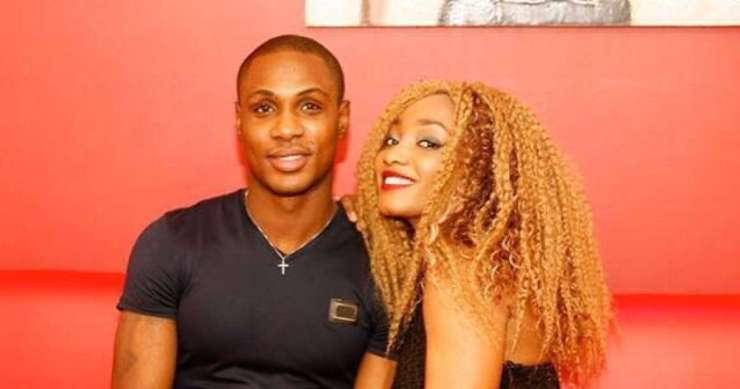 odion ighalo and his wife, sonia ighalo