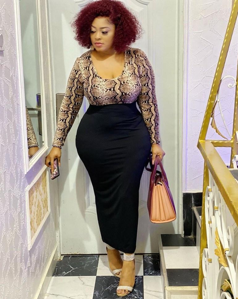 Screenshot_20200212-031807 Yoruba Actress, Omoburty Fires Back At A Troll Who Shaded Her Big Backside