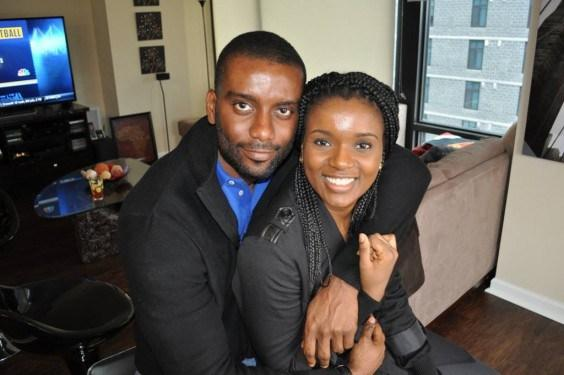 Dominic Mudabai, and his wife