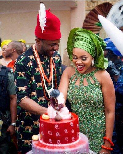 Ebuka and wife celebrate anniversary