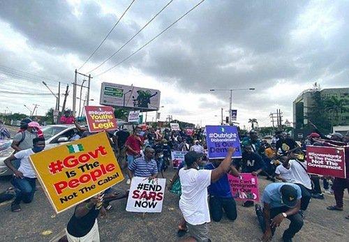 #endsars protest