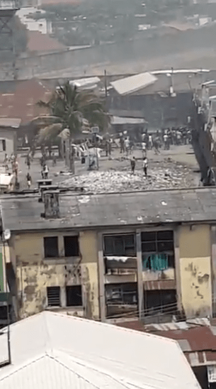 JUST IN: Jail break, sporadic gun fire as hoodlums attack Ikoyi Prisons (Videos)
