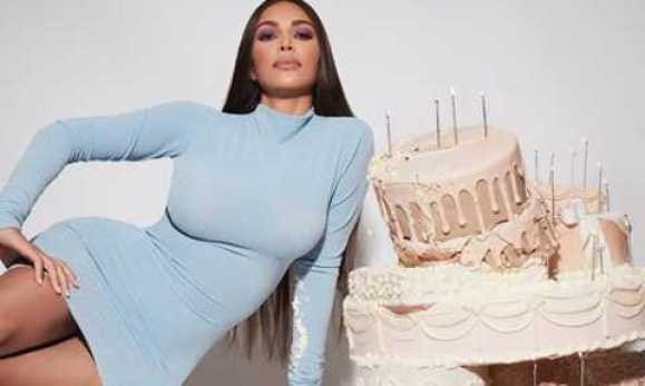 Reality TV Star, Kim Kardashian Celebrates 40th Birthday