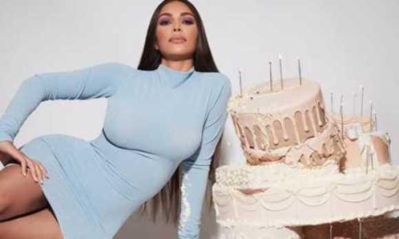 Reality TV Star, Kim Kardashian Celebrates 40th Birthday