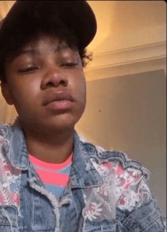 Tacha breaks down on IG live as she shares her police brutality experience (Video)