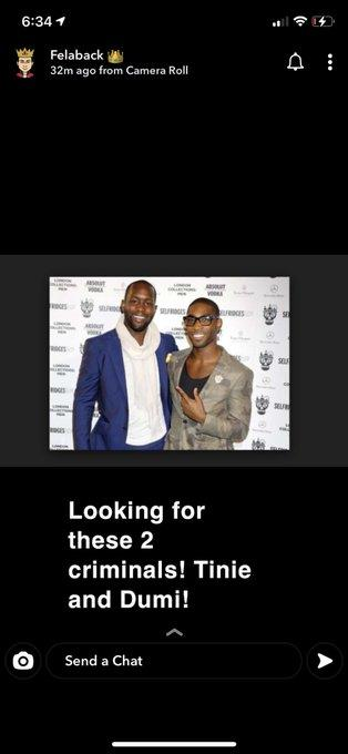 """Looking for these two criminals!"""" – Wizkid calls out Tinie Tempah and his manager Dumi 1"""