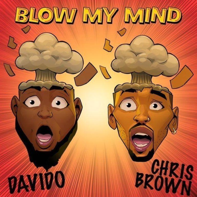 davido, chris brown blow my mind