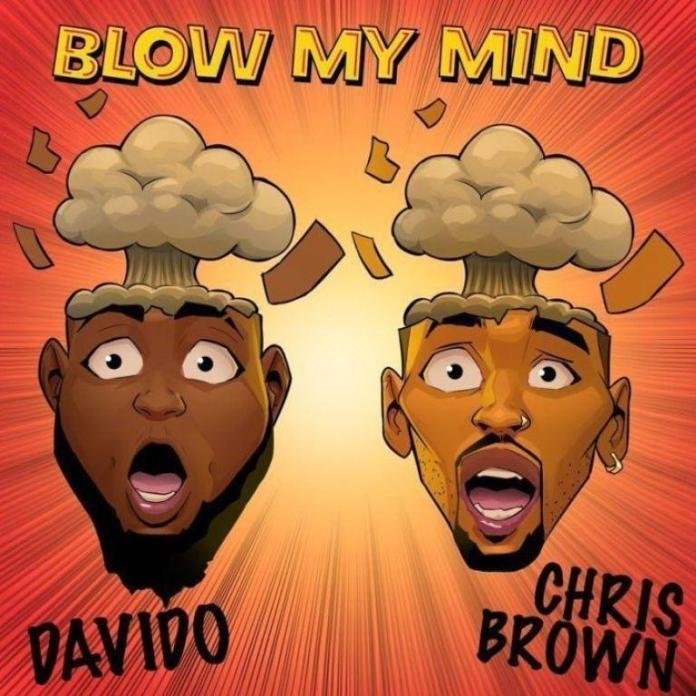 davido, chris brown blow my mind