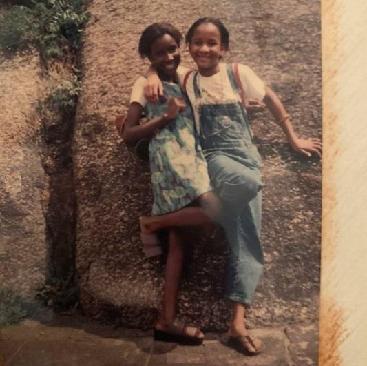 throwback photo adesua etomi