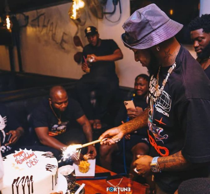 Davido's 28th birthday party