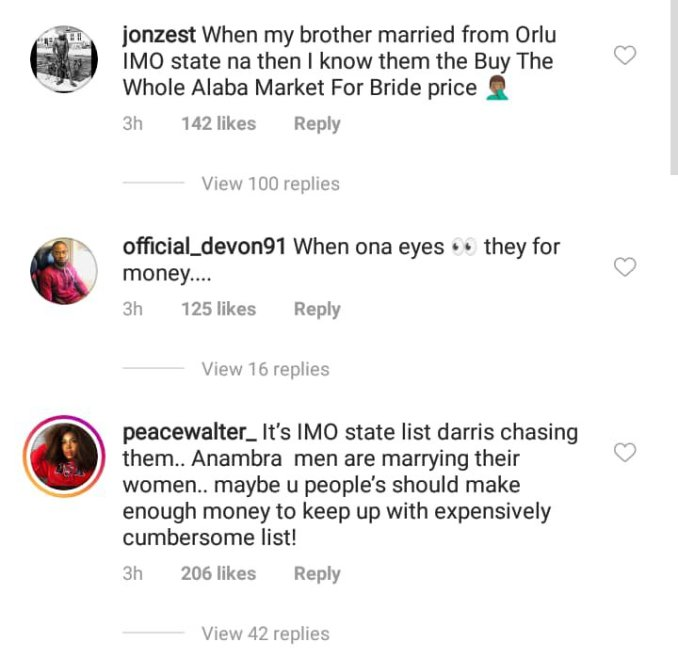 Men no longer marry from Imo state