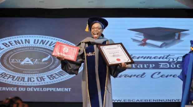 Kaffy Honorary Doctorate